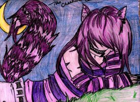 The Cheshire Cat by Venomous-andtrade