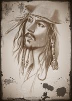 Jack Sparrow by tulyo7