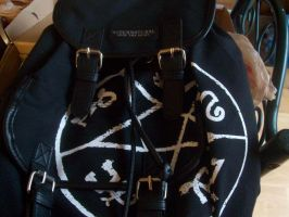 Supernatural backpack by A7XFan666
