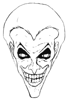Quick Joker Sketch by princeofknaves