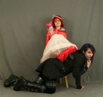 The Red Queen and the Mad Hatter 6 by MajesticStock