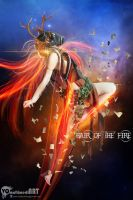 Hair of the Fire by vickyunderground83