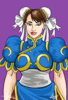 Chun-Li - January 2007 by bratchny