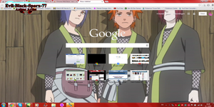 Nagato and the gang Chrome Theme 16 by Evil-Black-Sparx-77