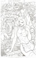 Tales From Wonderland - Pencil by SquirrelShaver