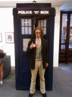 8th plus TARDIS by ERINAND