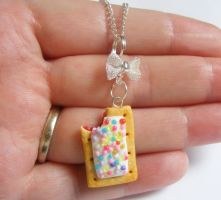 poptart necklace  from NeatEats by rhonda4066