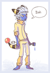 will Dressing up as pokemon by griffsnuff