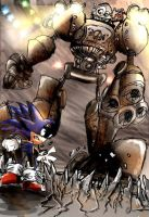 Of Hedgehogs and Giant Robots by DaveTheSodaGuy