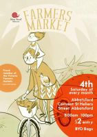 farmers market poster by like-textas