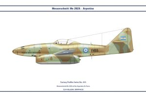 Fantasy 455 Me262A Argentina by WS-Clave