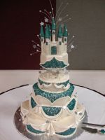 Castle Cake by jwitchy65