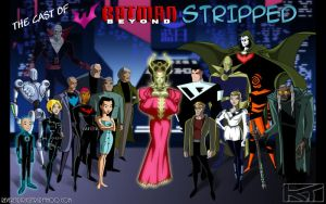 Batman Beyond 'Cast Photo' by ReverendTrigster