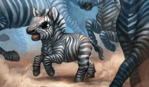 Creature Collection: Zebra by ALRadeck