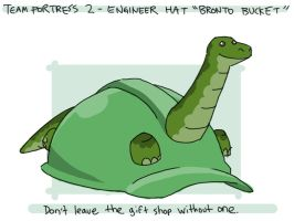 TF2 Engineer 'Bronto Bucket' by professorhazard