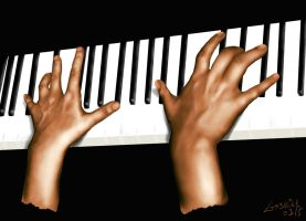 Hands on the Piano - update by maozao