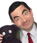 Mr. Bean and Teddy by depp800