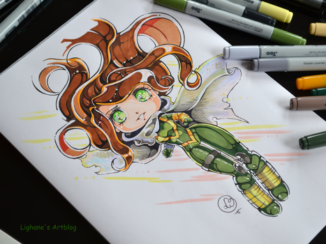 Chibi Hope Summers by Lighane