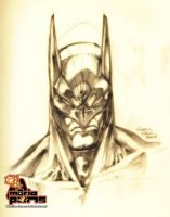 Batman sketch by MarioPons