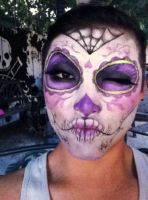 sugar skull by ohjimmyboy