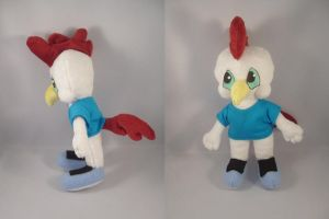 Tiny Tunes Fowlmouth plush by pandari