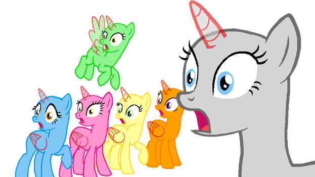 Mane 6 Say What? (#20) by BeanBases