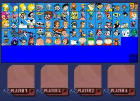 Cartoon Fighters Roster Updated by SuperMaster10