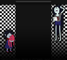Marceline Youtube Layout 3.0 by InvaderAndrea