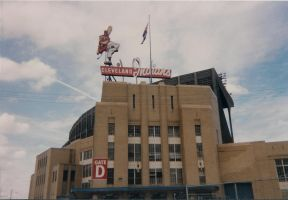 Old Cleveland Stadium by kkworker