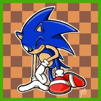 Sonic the Hedgehog by WhyDesignStudios