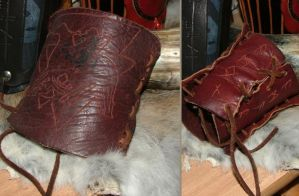 Amon Amarth bracers by Godred