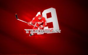 67. Steve Yzerman by J1897