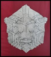 Tessellated mask by llifi-kei