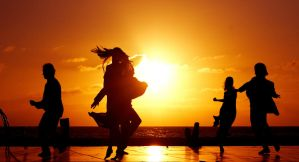 dance on sunset by marcodiquattro