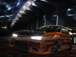 VW CORRADO BIG DOG by 7RON7