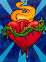 Sacred heart by ChadFullerton