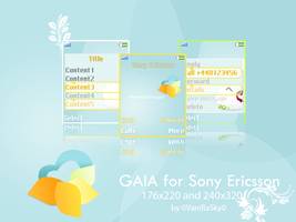 GAIA 08 for Sony Ericsson by 0VanillaSky0