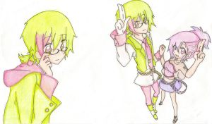 Vocaloid OC Harue Kinomi by AngelCapi