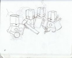 Castle Crashers by CycloneDeathMetal