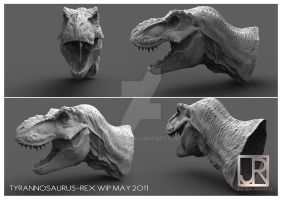 NEW T-REX HEAD by GIU3232