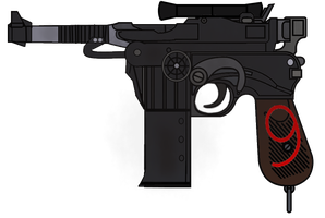 METAL STORM: Diesel punk Mauser C96 by fORCEMATION