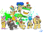 Bowser's Brood by Spurkeht