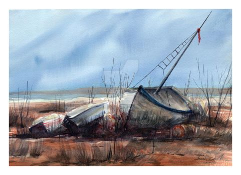 Abandonment by SALTWatercolors