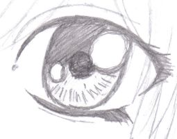 detail of one eye i draw by crystalheartgirl