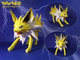 Jolteon Papercraft by Lyrin-83