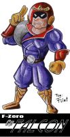 F Zero Capitan Falcon by FlintofMother3