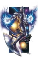Silver surfer by DAVID-OCAMPO
