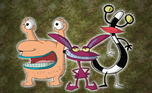 AAAHH REAL MONSTERS by Moon-manUnit-42