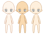 Original Chibi Doll Base by ultraNUMBbases