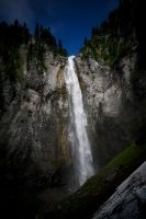 Comet Falls by jeruley